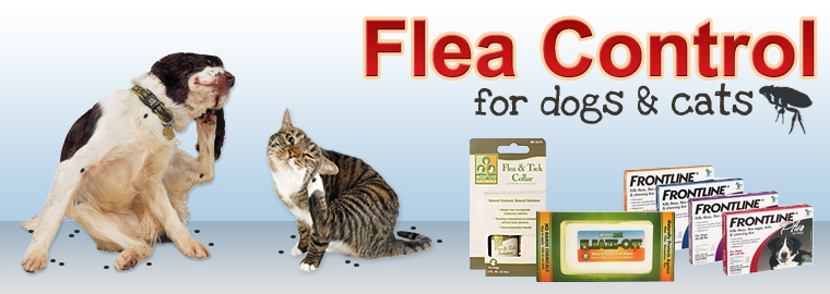 Flea Control for dogs & cats