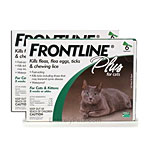 12 MONTH Frontline PLUS for Cats