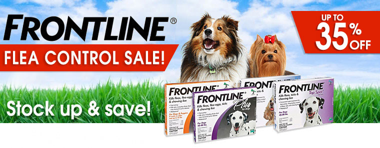 Frontline Flea Sale for Dogs