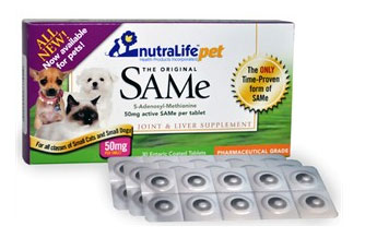 NutraLife Pet SAMe 50mg