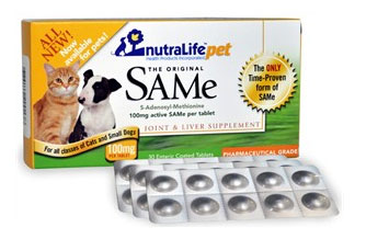 NutraLife Pet SAMe 100mg