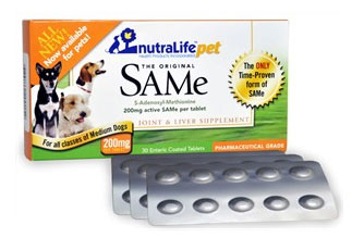 NutraLife Pet SAMe 200mg
