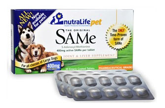 NutraLife Pet SAMe 400mg