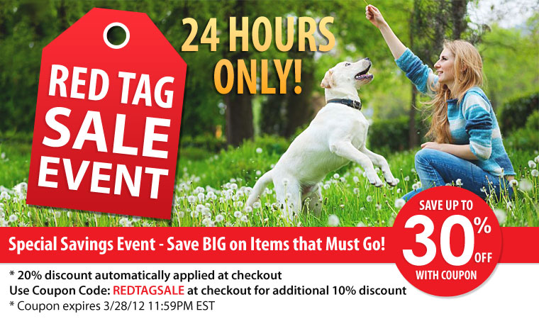 Red Tag Sale Event
