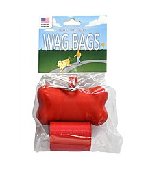 Wag Bags Dispenser Bone