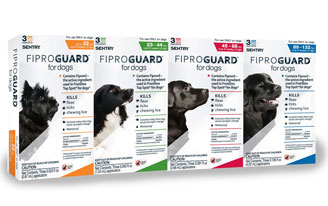 Fiproguard flea products