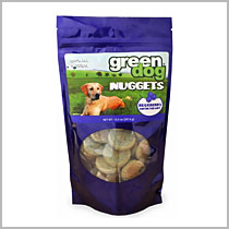 Green Pet Dog Nuggests