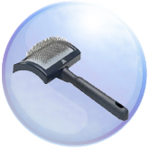 Millers Forge Curved Slicker Brush