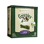 Greenies Treat Tub-Pak Canister Large