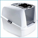 Catit White Tiger Cat Pan
