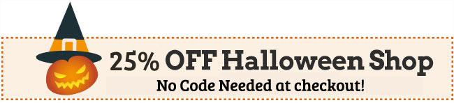 coupon: HALLOWEEN