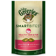 Feline Greenies SMARTBITES Skin & Fur Salmon