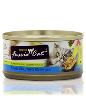Fussie Cat Tuna and White Fish Cat Food