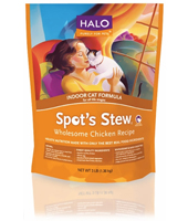 HALO Spot's Stew Wholesome Chicken Dry Cat Food