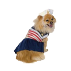 NEW! Leg Avenue Dog Costumes Sailor Sweetie Costume