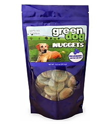 Green Dog Blueberry Nuggets