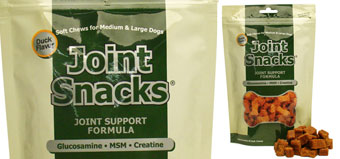 JOINT SNACKS SOFT CHEWS DUCK FLAVOR BY GREEN PET ORGANICS