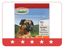 Field & Stream Flea & Tick Collar for Dogs with Necks up to 26