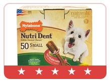 Nylabone Nutri Dent Dental Chews Filet Mignon Pantry Pack