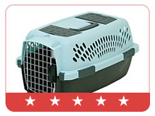 Petmate Pet Taxi Fashion Blue/Coffee