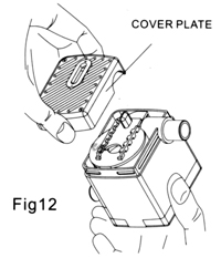 Remove the intake plate