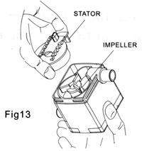 Remove the stator