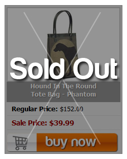 Hound In The Round Tote Bag - Phantom