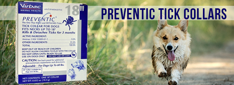 Preventic Tick Collar | Tick Collars for dogs | Tick Collars for cats