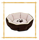 Aspen Pet Sculptured Round Bed