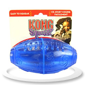KONG Squeezz Football Large (Assorted)