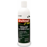 Ovitrol effectively kills fleas and ticks on dogs