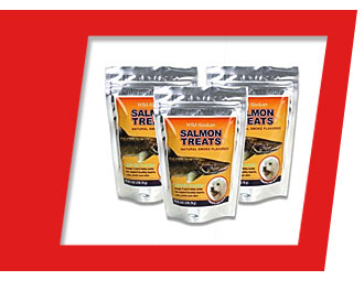 3-PACK Wild Alaskan Salmon Treats