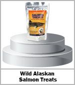 wild alasking salmon treats