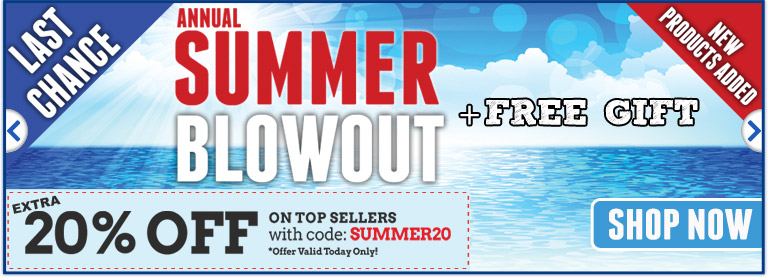 Annual Summer Blowout Sale!