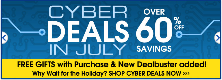Cyber Deals in July