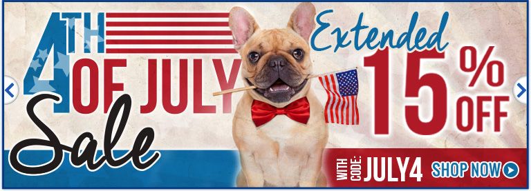 4th of july sale extended!