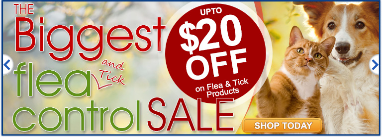 Flea & Tick Sale