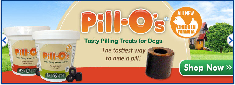 Pillo-O's New Chicken Flavor!