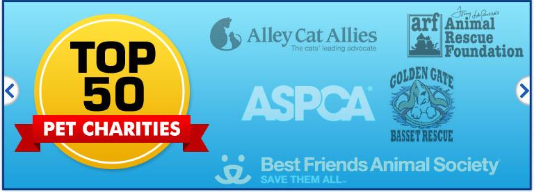 Top 25 Pet Charities