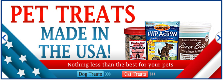 Pet Treats: Made in USA