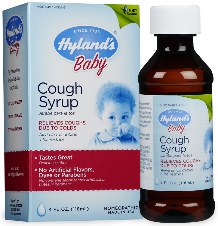 Buy baby cough cold - Hyland\'s Baby Cough Syrup - 4 oz