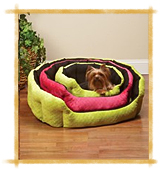 Slumber Pet Dimple Plush Nesting Bed