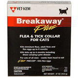 Breakaway Flea and Tick Collar for Cats