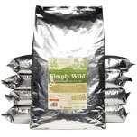 Simply Wild Dog food is a great choice for maintaining your dog's coat