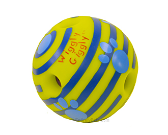Multipet Wiggly Giggly Ball - 4.5