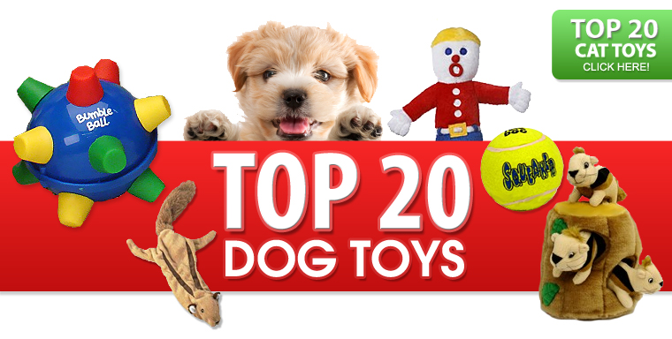 Top 20 Dog Toys